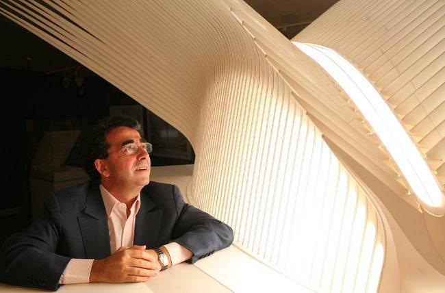 Calatrava và mô hình nhà ga Path