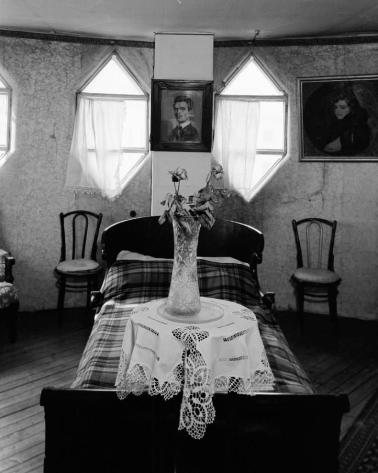 Дом Мельникова, второй этаж, спальня.