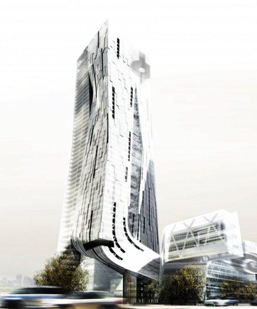 Dự án bố tòa tháp trong một tại Shenzen, Trung quốc