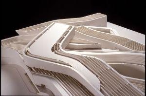 Mô hình một dự án của KTS Zaha Hadid