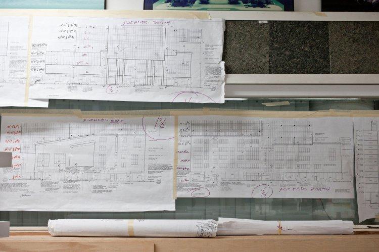 Ông đã làm mô hình cho các kiến trúc sư nổi tiếng