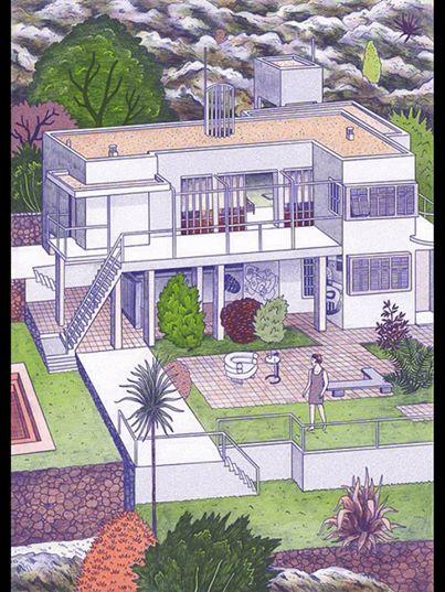 Bản vẽ của Eileen Gray