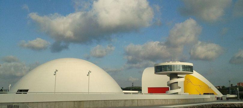 Trung tâm văn hóa quốc tế Oscar Niemeyer, Tây ban nha, 2011