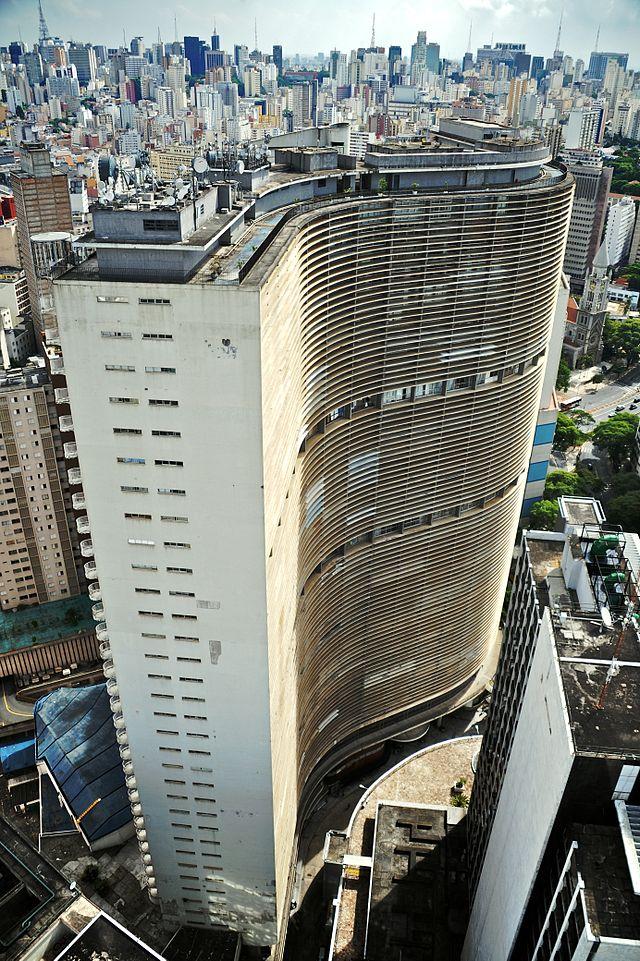 Tòa nhà Copan, Sao Paulo, 1951