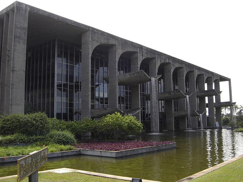 Trụ sở Bộ tư pháp Brazil, 1964
