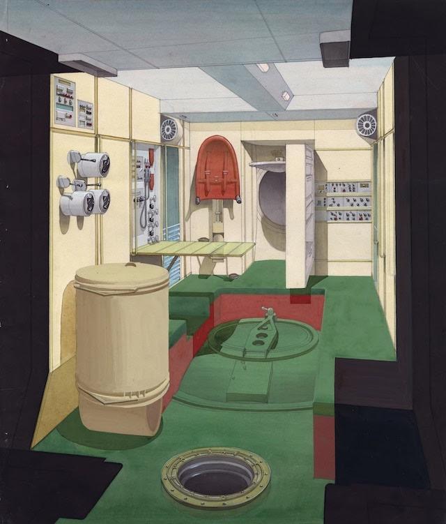 Thiết kế cho không gian cư trú của Mir, phiên bản cuối với các trang thiết bị nội thất