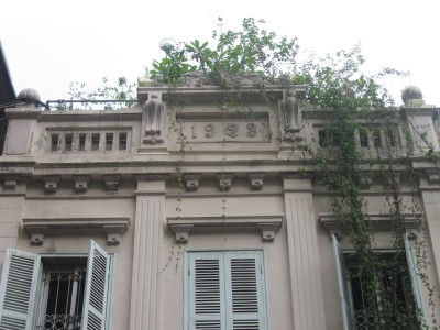 Chi tiết nhà số 7 phố Phan Huy Ích năm xây dựng: 1923