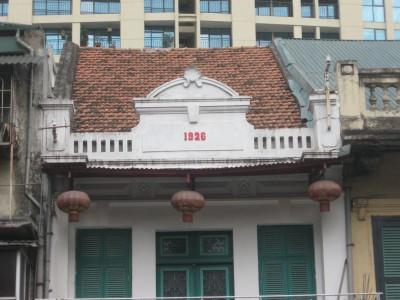 Chi tiết nhà số 294 phố Huế năm xây dựng: 1926