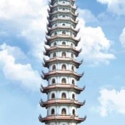 Hình 14. Tháp chùa Bằng