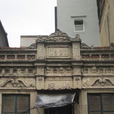Chi tiết nhà số 178 phố Bạch Mai năm xây dựng: 1928