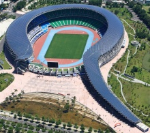 Taiwan Solar Powered Stadium, 2013, Toyo Ito.