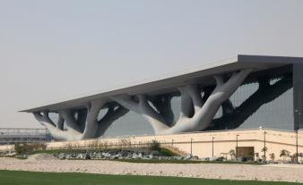 Quatar National Convention Center in Doha, 2011, Arata Isozaki.