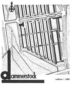 Hình 4. Tổng mặt bằng khu Dammerstock, Walter Gropius [20]