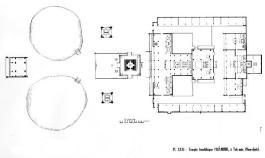 Hình 8. Mặt bằng tổng thể chùa Phổ Minh