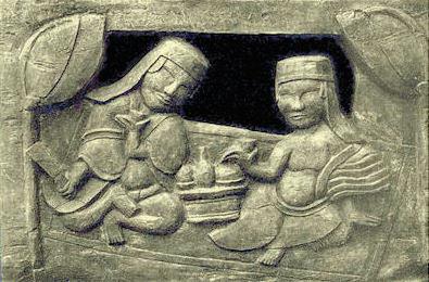 Chủ đề Uống rươu, đình Ngọc Canh, Vĩnh Phúc. Nguồn